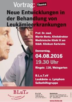 Vortrag zum Thema Leukämien