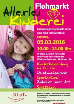 """Frühjahr / Sommer Kinderflohmarkt """"Allerlei Kinderlei"""""""