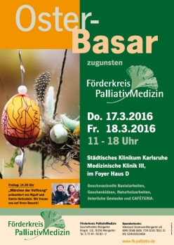 Osterbasar am Städtischen Klinikum Karlsruhe