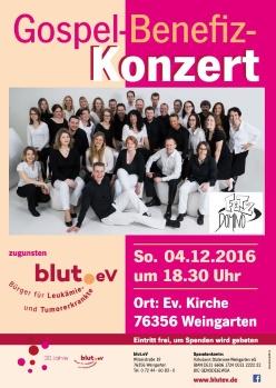 20 Jahre blut.eV – Jubiläumskonzert
