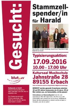 Alb-Donau Kreis macht sich auf den Weg um Harald zu helfen!