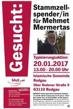 Islamische Gemeinde Rodgau ruft zur Typisierung auf!