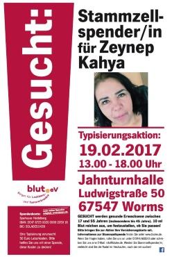 Hoffnung für Zeynep aus Worms!