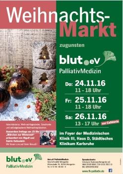 Weihnachtsmarkt am Städtischen Klinikum Karlsruhe
