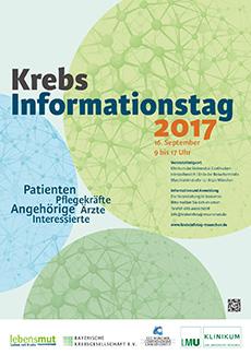 Krebsinformationstag 2017 am 16. September 2017