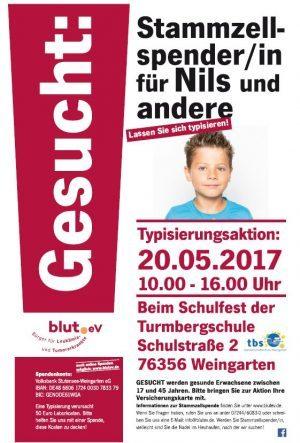 Turmbergschule Weingarten im Kampf gegen Leukämie