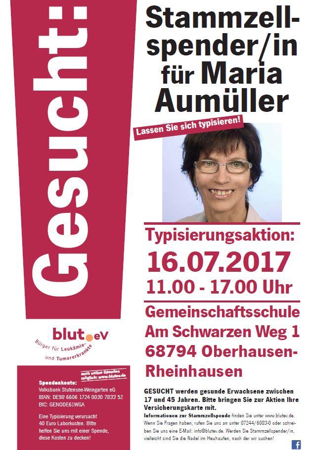 Oberhausen-Rheinhausen ruft zur Typisierung auf