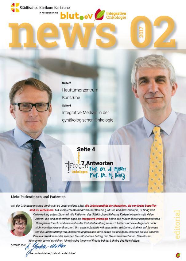Newsletter Integrative Onkologie  2 – 2017
