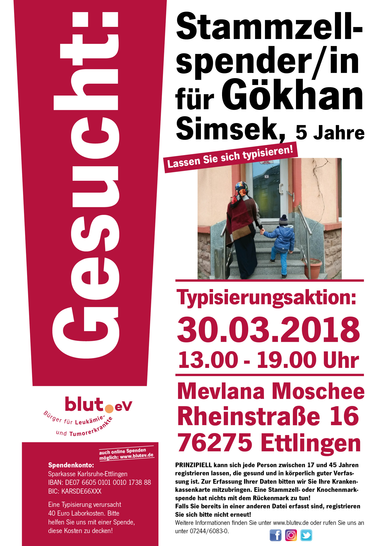 Gökhan, 5 Jahre aus Ettlingen sucht seinen Lebensretter!