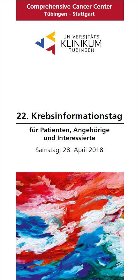 22. Krebsinformationstag Tübingen