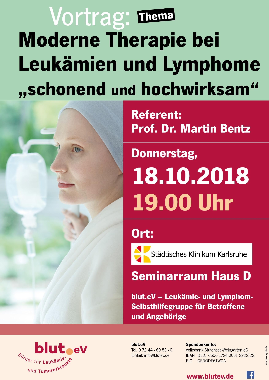 """Moderne Therapie bei Leukämien und Lymphome """"schonend und hochwirksam"""""""