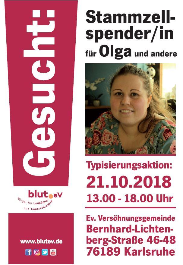 Olga aus Karlsruhe sucht ihren Lebensretter