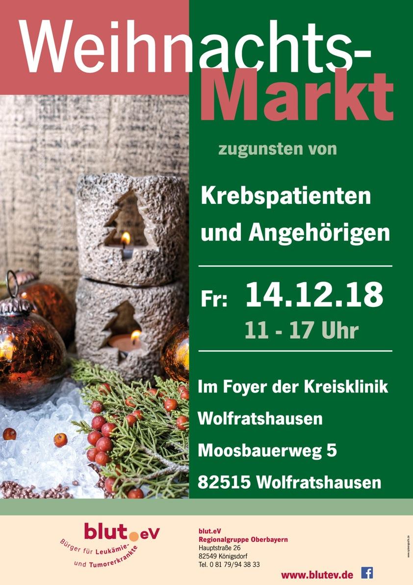 Weihnachtsmarkt in der Kreisklinik Wolfratshausen