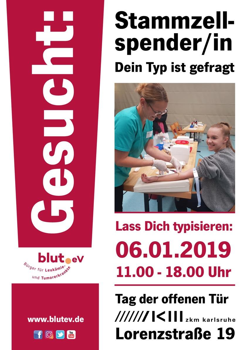 6. Januar 2019 – Typisierung Zentrum für Kunst und Medien Karlsruhe!