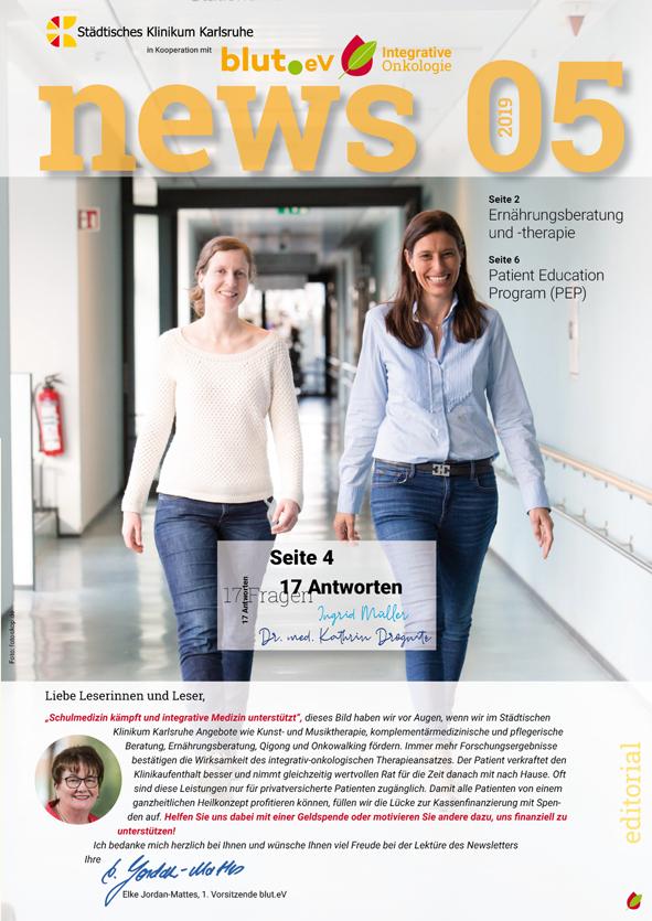 Newsletter Integrative Onkologie 5 – 2019