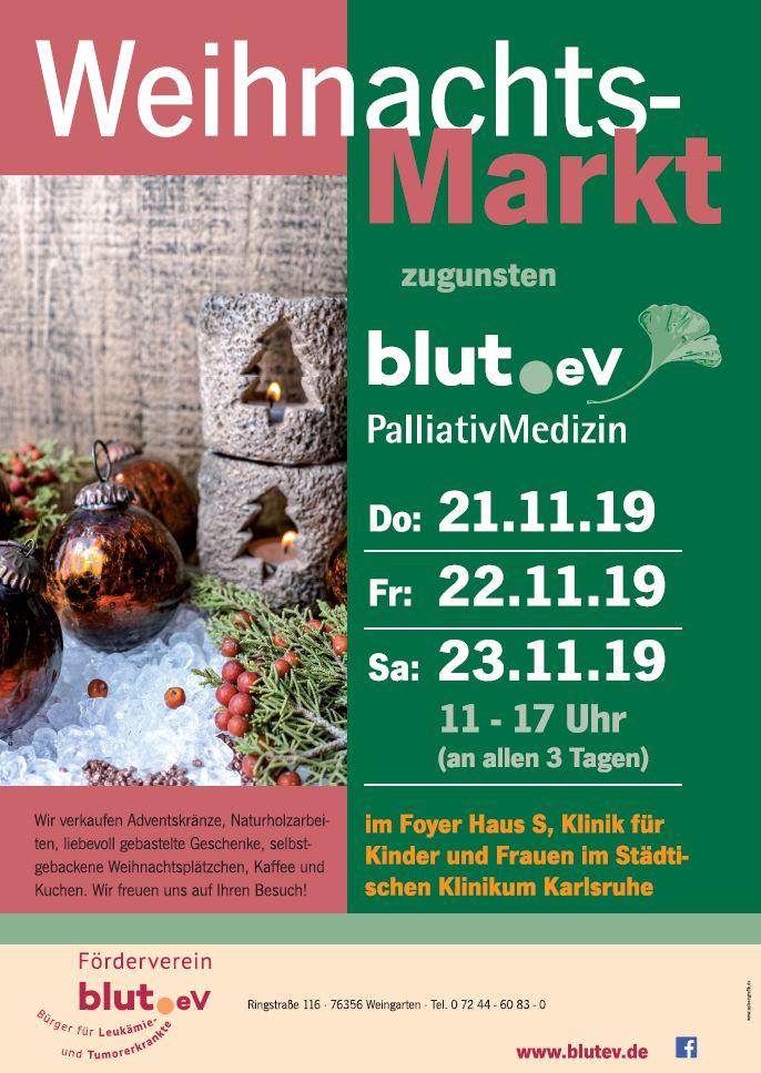 Weihnachtsmarkt im Städtischen Klinikum Karlsruhe
