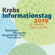Krebs Informationstag 2019 in München