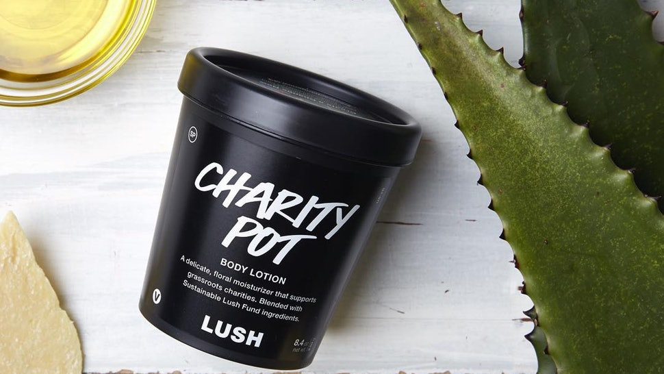 Charity Pot Aktion von LUSH Karlsruhe
