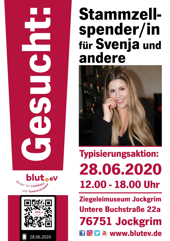 Stammzellspender für Svenja gesucht!