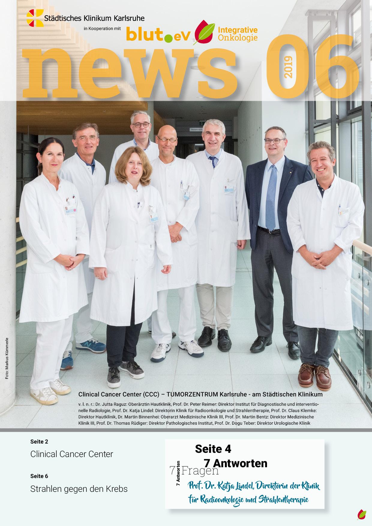 Newsletter Integrative Onkologie 6 – 2019