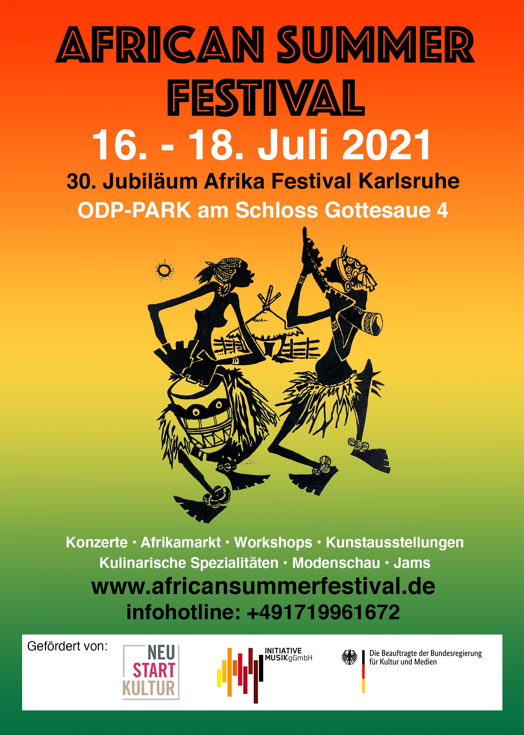 Stammzellspender werden beim African Summer Festival