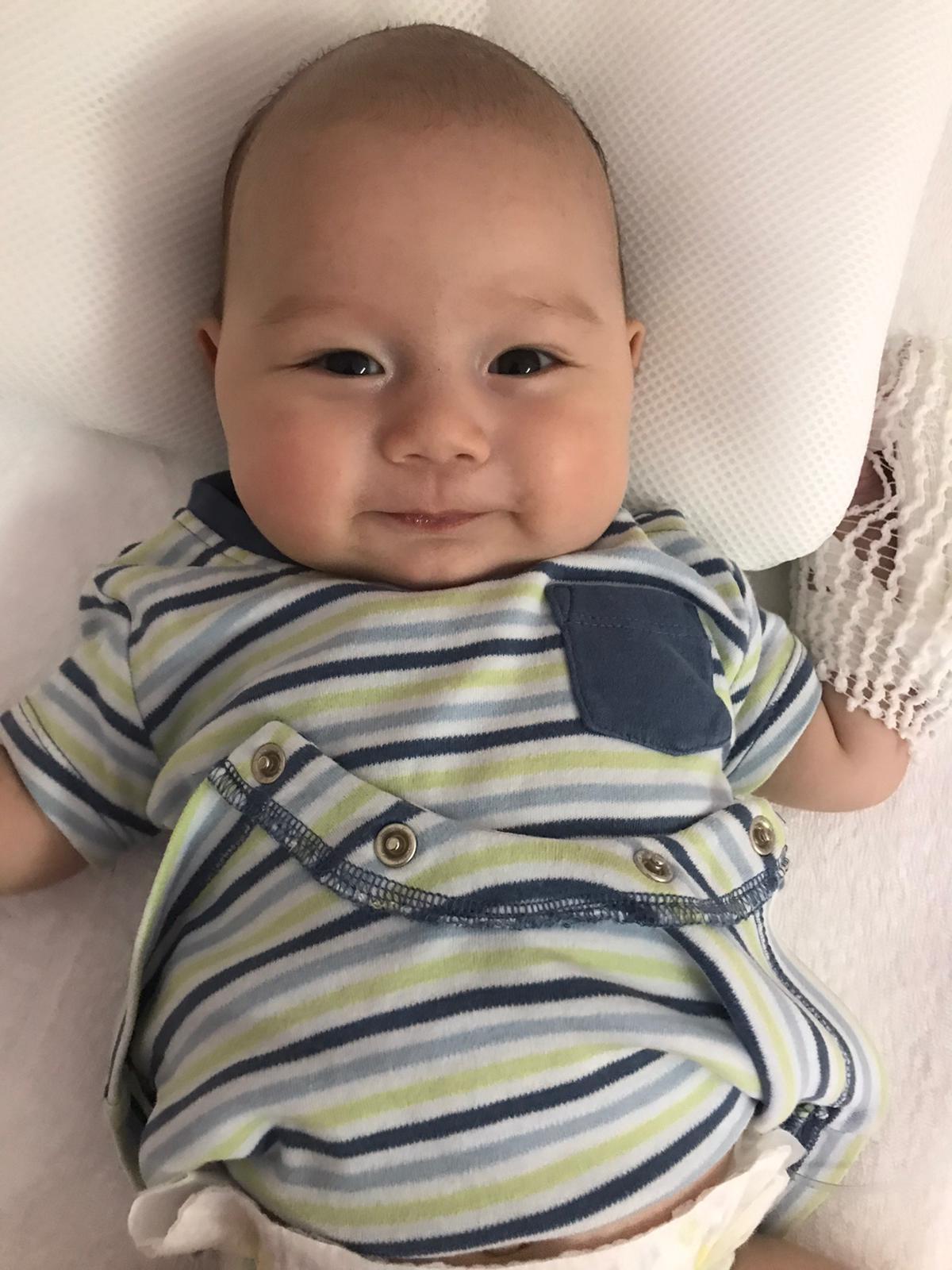 Baby Keanu braucht einen Stammzellspender!